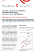 Have life expectancies in eastern and western Germany converged since reunification?