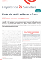 People who identify as bisexual in France