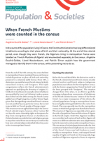 When French Muslims were counted in the census